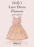 Lace Dress Flowers - white - le faire - Le Petit Tom - 10