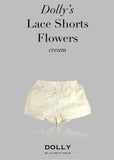 Lace Shorts with Big Bow - off white - le faire - Le Petit Tom - 3