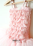 Lace Tutu Dress - pink - le faire - Le Petit Tom - 3