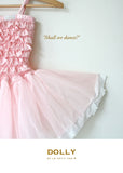 Lace Tutu Dress - pink - le faire - Le Petit Tom - 4