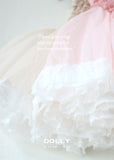Lace Tutu Dress - pink - le faire - Le Petit Tom - 5