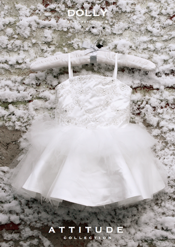The Princess Odette Dress - off white - le faire - Le Petit Tom - 1