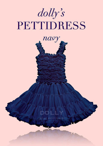 PettiDress - navy blue - le faire - Le Petit Tom