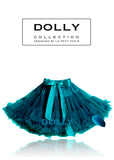 Pettiskirt - Blue Bird - deep teal, emerald blue - le faire - Le Petit Tom - 2
