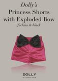 Princess Shorts with Exploded Bow - off white - le faire - Le Petit Tom - 8