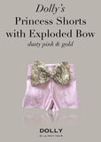 Princess Shorts with Exploded Bow - off white - le faire - Le Petit Tom - 5