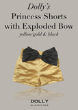 Princess Shorts with Exploded Bow - off white - le faire - Le Petit Tom - 6