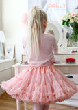 Pettiskirt - Queen of Roses  - rose pink - le faire - Le Petit Tom - 2