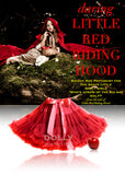 Pettiskirt - Little Red Riding Hood - bright red - le faire - Le Petit Tom - 1
