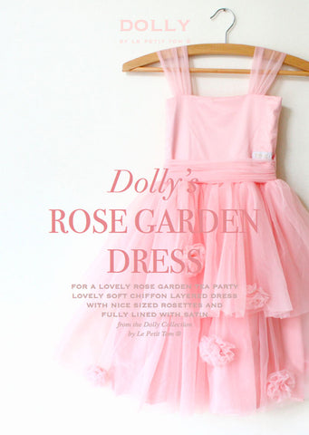 Rose Garden Dress - pink - le faire - Le Petit Tom - 1