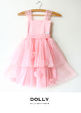 Rose Garden Dress - pink - le faire - Le Petit Tom - 4
