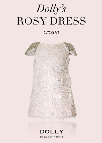 Rosy Dress - cream - le faire - Le Petit Tom - 1