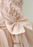 Rosy Layered Tutu Dress - cream - le faire - Le Petit Tom - 2
