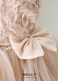Rosy Layered Tutu Dress - ballet pink - le faire - Le Petit Tom - 2