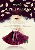 Pettiskirt - Superwoman - aubergine - le faire - Le Petit Tom - 5