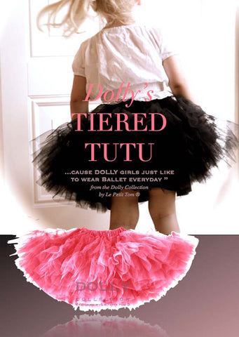 Tiered Tutu - pink - le faire - Le Petit Tom - 1