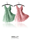 Totally Ruffled Dress - sea green - le faire - Le Petit Tom - 2