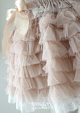 Totally Ruffled Skirt - ballet pink - le faire - Le Petit Tom - 2