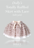 Totally Ruffled Skirt - silver grey - le faire - Le Petit Tom - 5