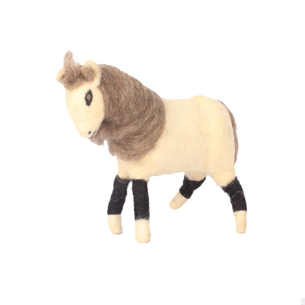 Handcrafted Felt Horse