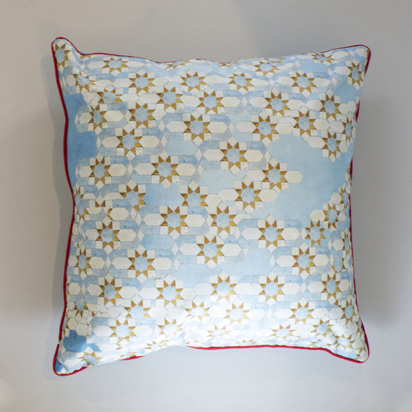 Morocco Blues Cushion Cover
