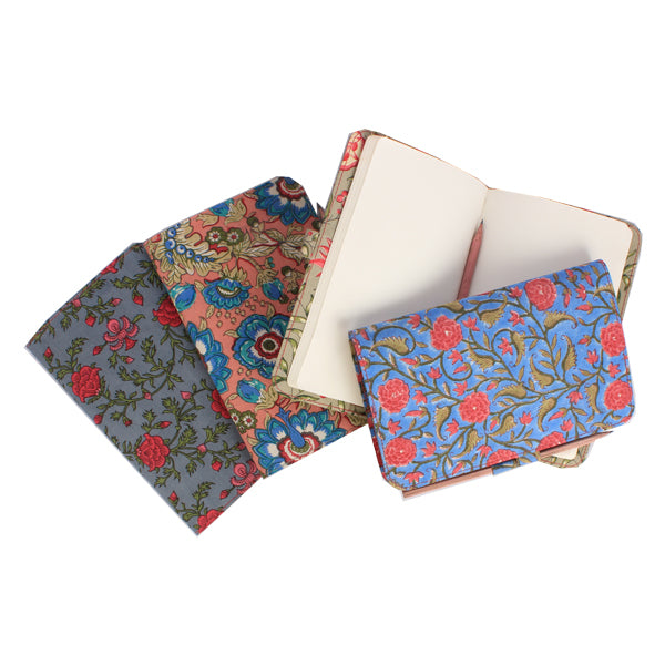 Assorted Floral Diary