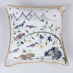 Night in the Forest Cushion Cover