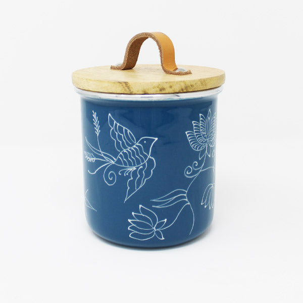Birds of Paradise Cookie Jar