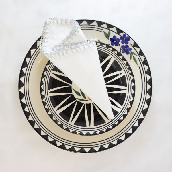 Chandi Dinner Napkin - White