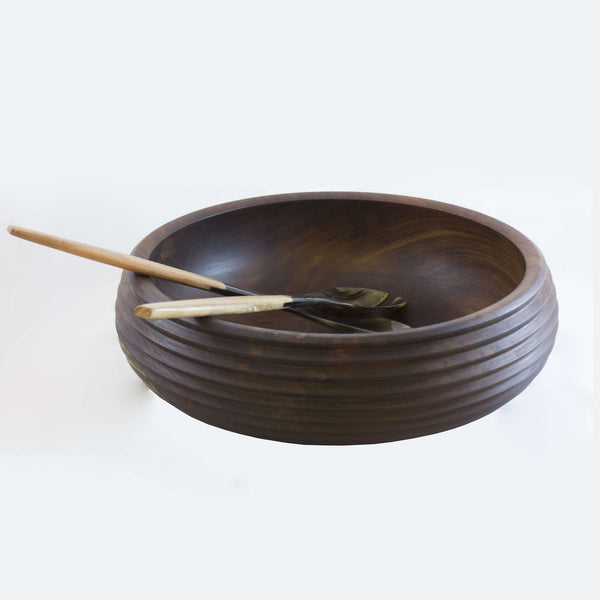 Ridge Salad Bowl - 12 Inches