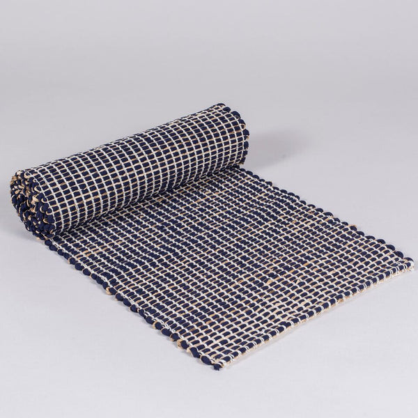 Quad Table Runner (Midnight Blue)