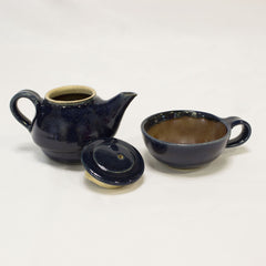 Tea pot with Cup - Blue