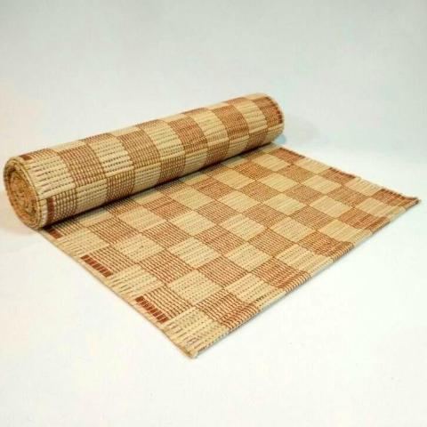 Terra Check Table Runner