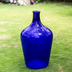Large Cobalt Bottle