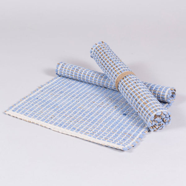Quad Table Mats (Pale Blue)