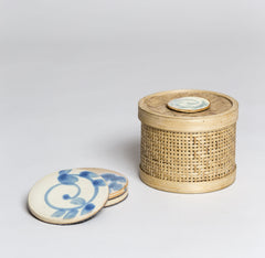 Coasters in a Box Ivory