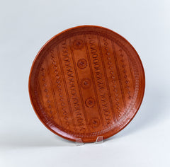 Leather Fruit Tray