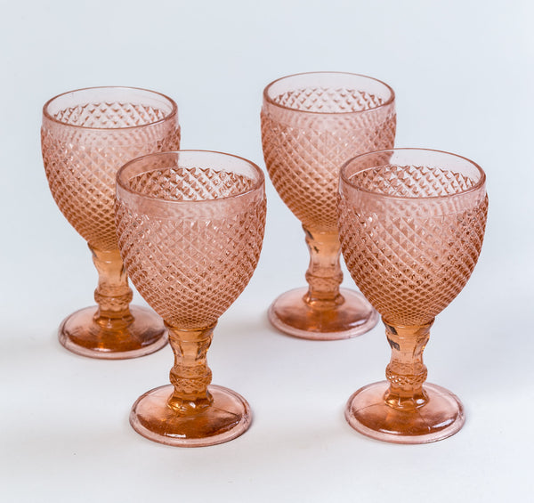 Solitaire Goblets Rose