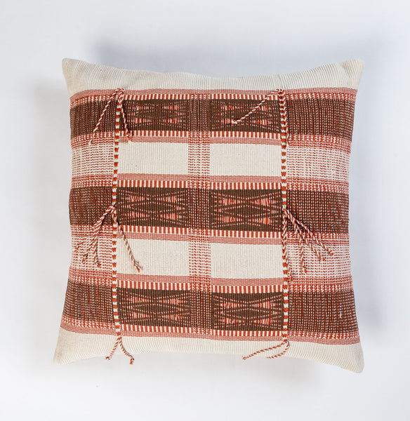 Nagaland Cushion Covers Beige and Brown