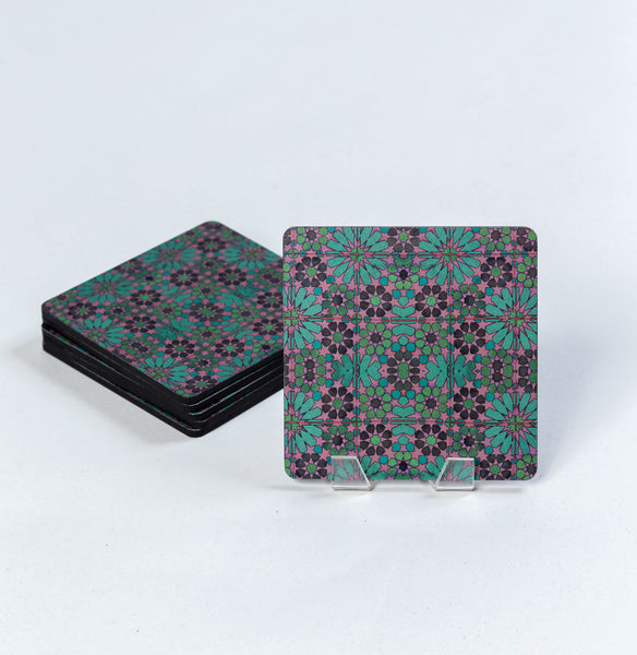 Goa Tiles Mosaic Coasters