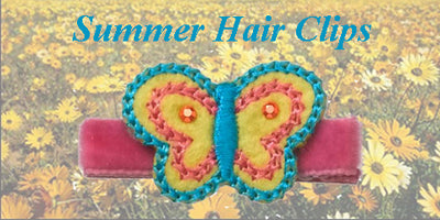 Let's talk about Summer and of course... our newest hair clips!