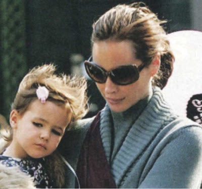 Christy Turlington and Baby Grace