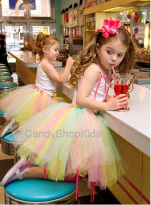 Colorful Girls Tutus