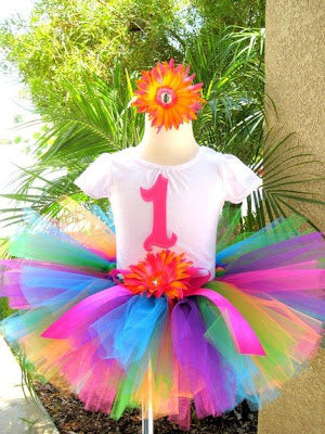 Little Girls Special Birthday Outfit