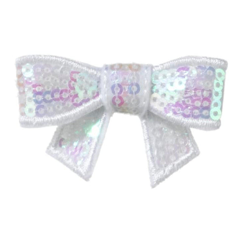 Chloe Sequined Baby Hair Bows - Hairclippy