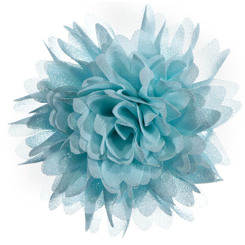 Lauren Puff Chiffon Flowers - Hairclippy