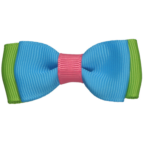 Devyn Color Block Bows - Hairclippy