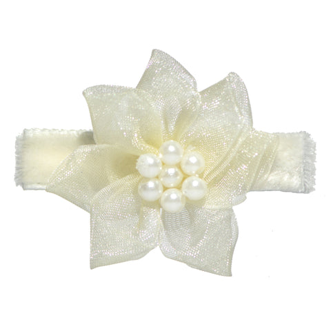 Grace Organza Hair Flowers - Hairclippy