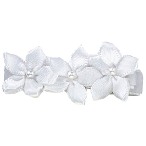Megan Satin Violets Hair Clip - Hairclippy