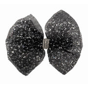 "Madi 3"" Glitter Bow w/ Beaded Center"